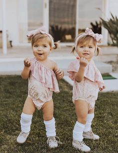 Taytum and Oakley Fisher, adorable twin girls! Children of ...