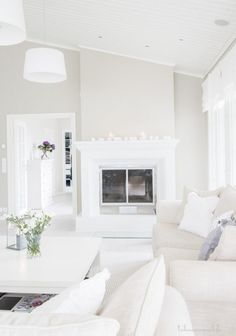 calm, soothing, clean whites