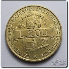 200 lire guardia di finanza 1996