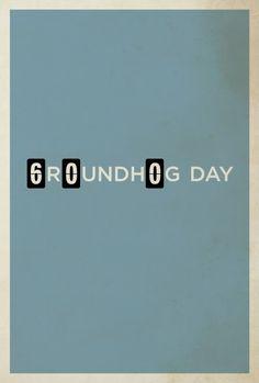 Groundhog Day #minimalistic #movie #poster