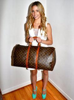 Make an Offer LOUIS VUITTON Keepall 55 Duffel Bag by louise49, $485.00