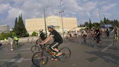11η Πανελλαδική Ποδηλατοπορεία στην Αθήνα #VLOG Street View