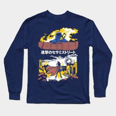 Attack On S. Street Long Sleeve T-Shirt
