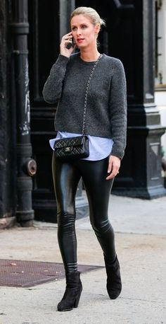 Nicky Hilton Photos: Nicky Hilton Has A Busy Day In New York City
