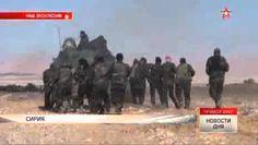 Сирийская армия начала наступление на Пальмиру