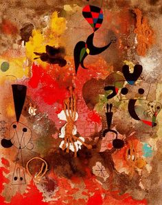 Joan Miró - Painting, 1950