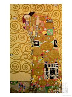 Art.fr - Impression giclée 'La réalisation' par Gustav Klimt