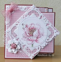 Homemade Greeting Cards, Homemade Cards, 3d Cards, Folded Cards, Card Making Inspiration, Making Ideas, Fusion Card, Handmade Card Making, Cricut Cards