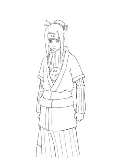 naruto coloring pages to print LineArt Chibis Pinterest