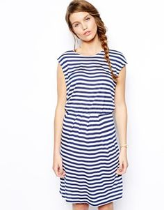 Only Stripe Waisted Dress. Great for Summer play