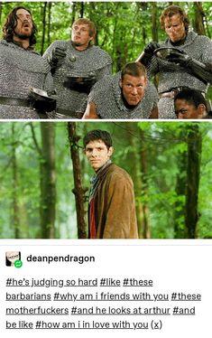 Merlin Memes, Merlin Funny, Merlin Show, Merlin Fandom, Merlin And Arthur, King Arthur, Merlin Season 1, Bbc Tv Shows, No Name