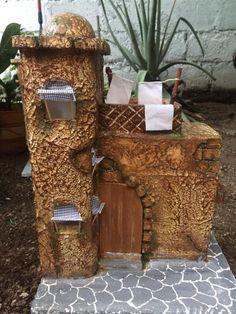 Belen Miniature Crafts, Romanesque, Advent, Texture, Wood, Flowers, Plants, Christmas, Handmade