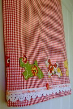 Scottie Dogs on Parade Homespun Tea Towel  by TwoGirlsLaughing, $24.00