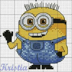 cross stitch pattern minions - Google'da Ara