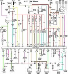 d24cc8c2716928e569684b9e14cee9ce ford mustang ford mustangs 1993 ford mustang wiring diagram mustang wiring pinterest,1993 Ford Mustang 2 3l Spark Plug Wiring Diagram