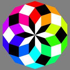 Decagon Crazy Color Puzzle