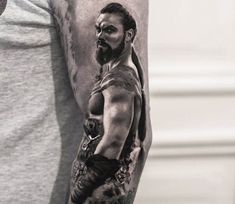 Khal Drogo tattoo by Bro Studio