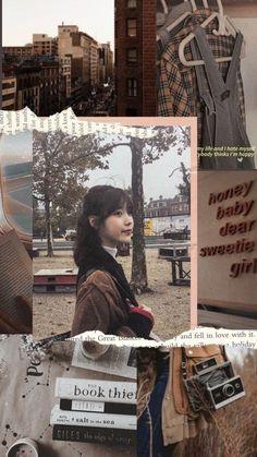 #iu #brown #aesthetic #wallpaper #leejieun Korea Wallpaper, Brown Wallpaper, Pastel Wallpaper, Photo Wallpaper, Wallpaper Lockscreen, Brown Aesthetic, Aesthetic Vintage, Kpop Aesthetic, Kpop Backgrounds