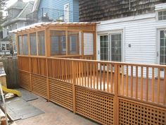 plexiglass enclosed deck and roof screened in porch roof