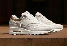 Nike air max 1 Gamma grey suede.  ✔️