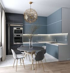 60 The Inspiring Luxury Kitchen Cabinet Colors And Stories - Consider When Buying Kitchen Room Design, Luxury Kitchen Design, Kitchen Cabinet Colors, Best Kitchen Designs, Home Decor Kitchen, Interior Design Kitchen, Kitchen Ideas, Kitchen Cabinets, Kitchen Dinning Room