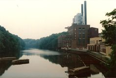 The old Ohio Edison Plant - Cuyahoga Falls, OH - 1991 Photo: Richard Geul III