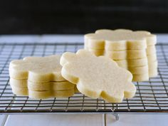Roll-Out Sugar Cookie Recipe by Semi Sweet Designs @SemiSweetMike. Perfect for cut out cookies- a dough that keeps its shape and doesn't spread after baking.