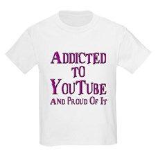 Kids YouTube t-shirt