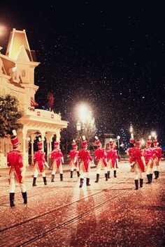 The Cherry Blossom Girl - Disneyland Paris Christmas Parade Backstage 25                                                                                                                                                                                 More