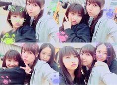 Sato Masaki, Fukumura Mizuki and Oda Sakura