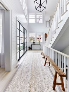 This Amagansett beach house would rock your world! Great team worked on this one. Interior Design and Architecural Advisement by Chango & Co, Architecture by Thomas H. Heine and Photography by Jacob Snavely. Beach House Decor, Diy Home Decor, Coastal Decor, Coastal Interior, Beach House Inn, Scandinavian Interior, Coastal Style, Coastal Living, Coastal Bedrooms