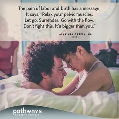 """""""The midwifery model of care offers reassurance guidance encouragement and unconditional acceptance. Pain is seen as a normal experience and not a sign of damage injury or abnormality. Pregnancy Labor, Pregnancy Advice, Pregnancy Health, Pregnancy Affirmations, Birth Affirmations, Birth Doula, Baby Birth, Ina May Gaskin, Beautiful Pregnancy"""