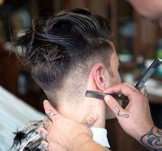 Mens Hair Straight Razor