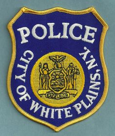 White Plains New York Police Patch Law Enforcement Badges, Law Enforcement Officer, White Plains New York, Police Cars, Police Badges, New York Police, Patches For Sale, Police Patches, Military Police