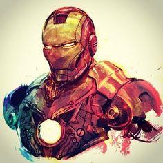 He was born on May and turns 48 today. Marvel Dc Comics, Marvel Heroes, Anime Comics, Marvel Avengers, Comic Books Art, Comic Art, Iron Man Art, Ironman, Iron Man Tony Stark