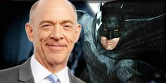 "#JKSimmons recently stated that he is playing a ""badass"" version of #JimGordon that is #Batman's partner in crime."