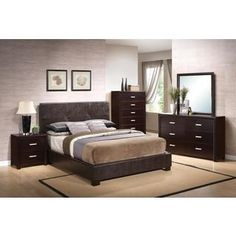 Shop for Andrew Button 5-piece Bedroom Set. Get free delivery at Overstock.com - Your Online Furniture Shop! Get 5�0in rewards with Club O!