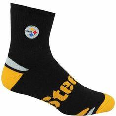 Pittsburgh Steelers V-Grip Socks - Black