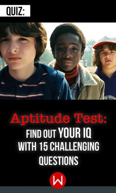 Is there a little genius in you? It's time to find out! Let's see what your mind is capable of. Aptitude test, General Knowledge Trivia, Knowledge Quiz.