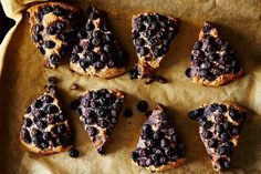 Coconut Spelt Scones with Blueberries recipe: With all those blueberries you don't even need jam.