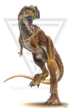 Paleo-Art: New Animals to Science, Todd Marshall Rugops Primus
