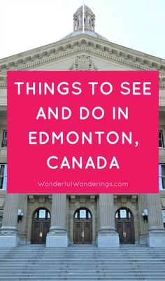 Check this list of things to do in Edmonton, Alberta, Canada in winter besides going to an Oilers game Visit Canada, O Canada, Alberta Canada, Time Travel, Travel Tips, Travel Advice, Travel Ideas, Travel Inspiration, Girls Weekend