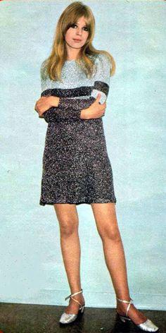 Marianne Faithfull 60's dress