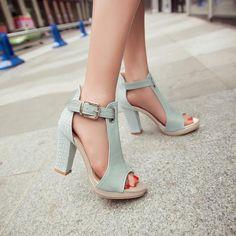 Hot Fashion Peep Toe Shoes