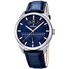 Festina - Ceas Festina F16873/3 - Bleumarin Omega Watch, Watches, Clock, Clocks