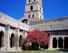 Great Tourist Destinations including the Cloître Saint-Trophime, Arles France