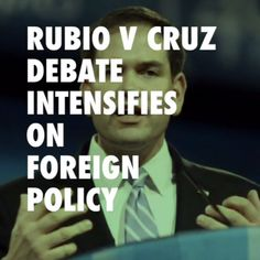 Foreign Policy Debate Intensifys as Ted Cruz Blasts Rubio and 'Neo-cons' more on link #TedCruz #MarcoRubio #bebold #boldnews #boldtv @sheffieldcarrie @galshyli @mandyttcarr @atrium428