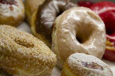 Doughnuts from Dough in Brooklyn  Hands down best ever! The Dulce de Leche....mmmm