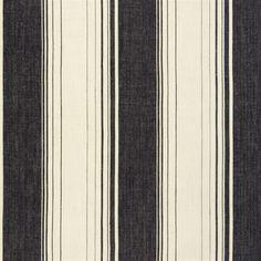 hawthorne - noir fabric | Designers Guild