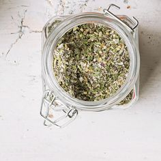 Make a big batch of this Crazy Herb Spice Mix to have on hand when you need to whip up a quick vegetable dip or flavorful, easy salad dressing. The spice mix is also perfect to give as a hostess gift along with a recipe card for turning it into a dip or vinaigrette.